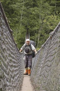 WCT Logan Creek Suspension Bridge