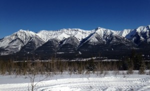 Canmore Nordic Centre View