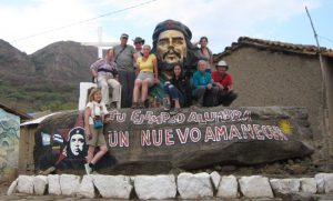 Our Bolivian tour friends along with Liz, our guide.