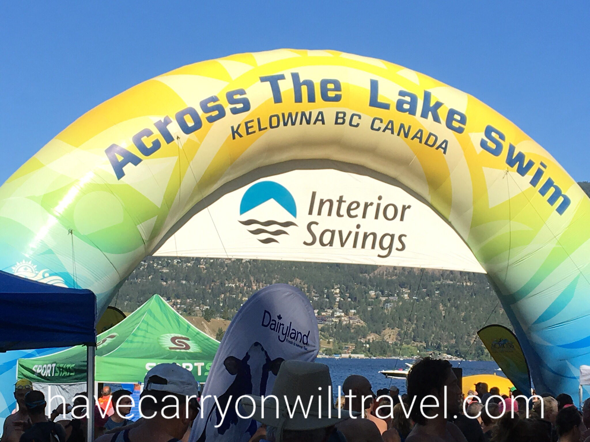 Swim Across the Lake in Kelowna