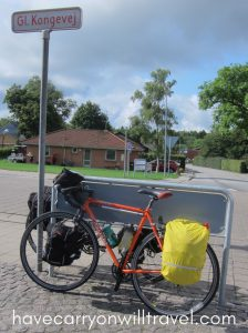 A rest stop on the way to Silkeborg