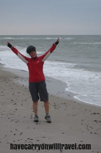 Debbie almost in the North Sea