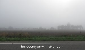 Fog outside Horsens