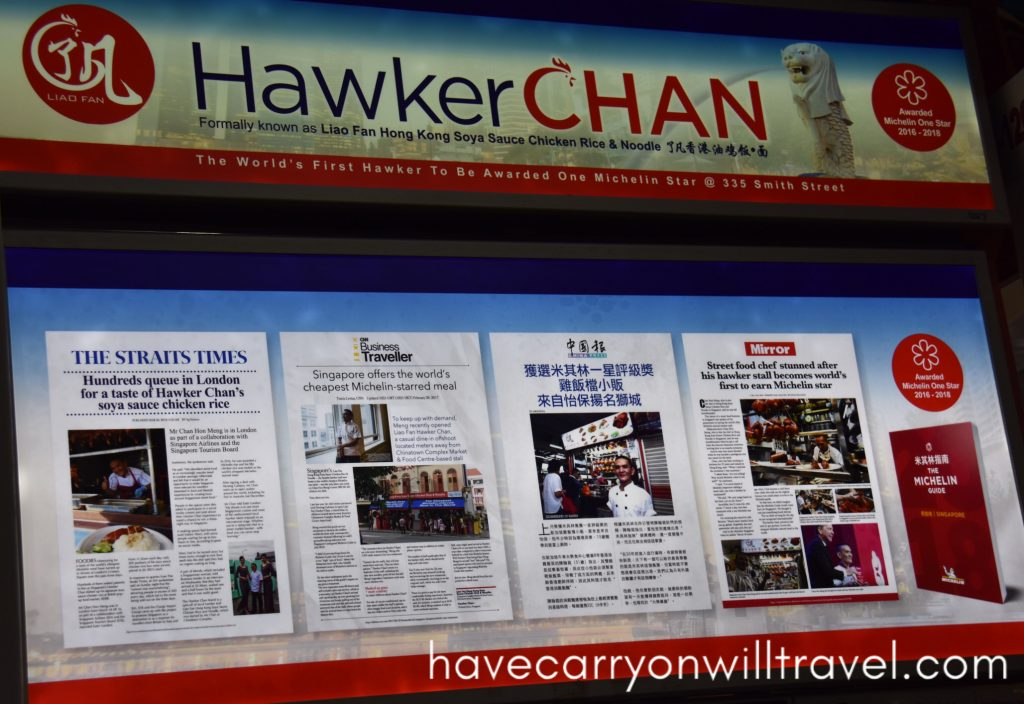 Hawker Chan's Food Stall, Singapore